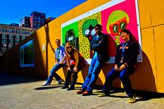 04.04 - Vintage Pop Art (BenjaminWalker) Tags: seattle colors project photography saturated flickr ben vibrant band walker saturation chase april benjamin 365 emerald progression 2011