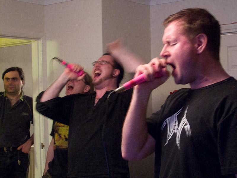 Karaoke time!