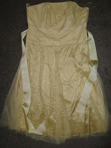 SPECIAL EDITION STRAPLESS RED HERRING DRESS 14 PROM