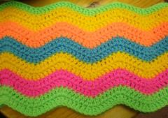 P9110193 (Carolyn Hibbert) Tags: ripple crochet colourful babyblanket