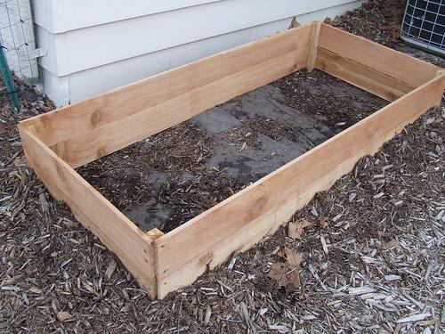 New Cedar Bed