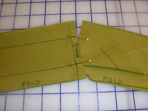 sew thumb hole on each half separately right sides together