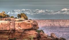 Canyonlands National Park (Dostalek Images) Tags: rock sunrise landscape utah sandstone desert canyon canyonlandsnationalpark coloradoriver geology wildwest whiterim southwestusa mountainrange islandinthesky famousplace grandviewpoint lechee extremeterrain sunrisenature vladimirdostalek