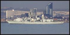 HMS St Albans (F83) (leightonian) Tags: uk island boat ship unitedkingdom military isleofwight gb portsmouth frigate naval isle wight iow royalnavy type23 puckpool