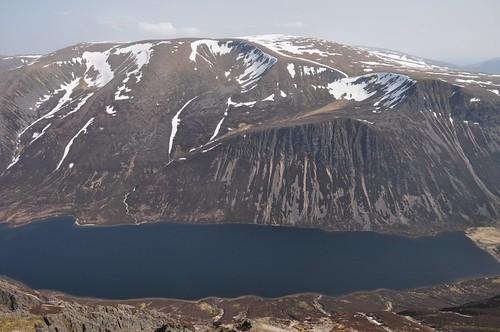 Loch Einich and Braeriach from Sgor Gaoith