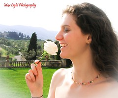 White Rose (Max Light Photography) Tags: life girls friends light portrait sky people italy woman sun su