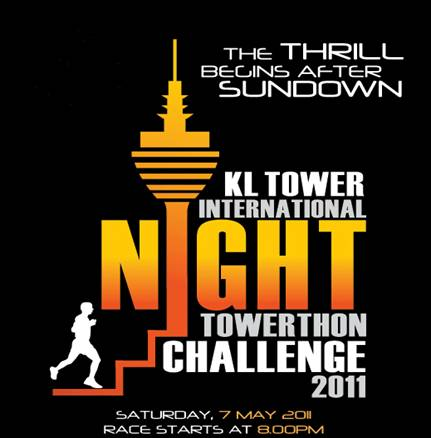 KL Tower International Night Towerthon Challenge 2011