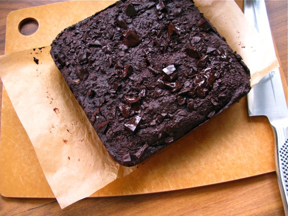whole wheat chocolate brownies 003