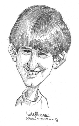 caricature in pencil - 24