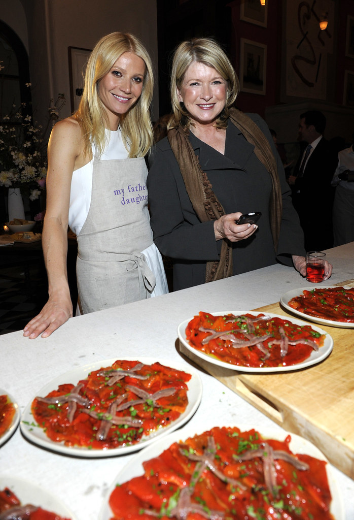 Photo of Martha Stewart & her friend actress  Tracy Anderson -