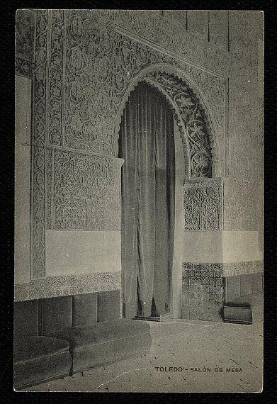 Casa de Mesa a comienzos del siglo XX