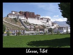 lhassa Tibet (franchab) Tags: voyage eos photo lac du unesco himalaya monde namtso potala everest monastere shigatse ganden drepung tibetain bouddhisme sagarmatha lhassa reting barkhor norbulingka yumbulagang chomolungma tsongkhapa tashilhunpo dalaïlama gyangtse campdebase ལྷ་ས songtsengampo radreng franchab བོད་ གཞིས་ཀ་རྩེ་ རྒྱལ་རྩེ་ yumbulhakhang གནམ་མཚོ wwwfranchabphotographefr templedejokhang régionautonomedutibet montgephel