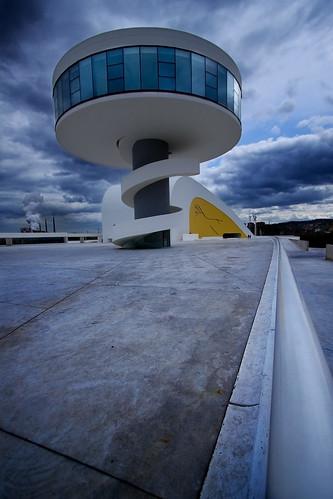Centro Niemeyer em Avilés, Espanha