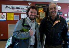 NWT Election Candidates Head Out of Fort Smith (the_napkin) Tags: new party canada green election eli northwest fort politics parties nwt smith part fortsmith elections campaign federal purchase democratic territories candidates yellowknife bevington