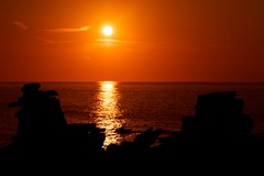 baot portugal peniche sunset ('^_^ D.F.N. Damail ^_^') Tags: sunset sun france art love water canon word french fun photography photo reflex europe photographie picture 7d franais francais photographe dfn damail francais wwwdamailfr