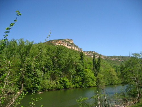 Rocks above the Aveyron