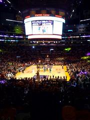 @Lakers postseason has begun! Hornets Roud 1 (dennis_p) Tags: lakers hornets round1 game1 losangeleslakers neworleanshornets playoffs2011