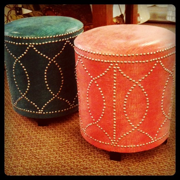 Yay or nay?  Pink or teal?  For my office ...leaning towards pink