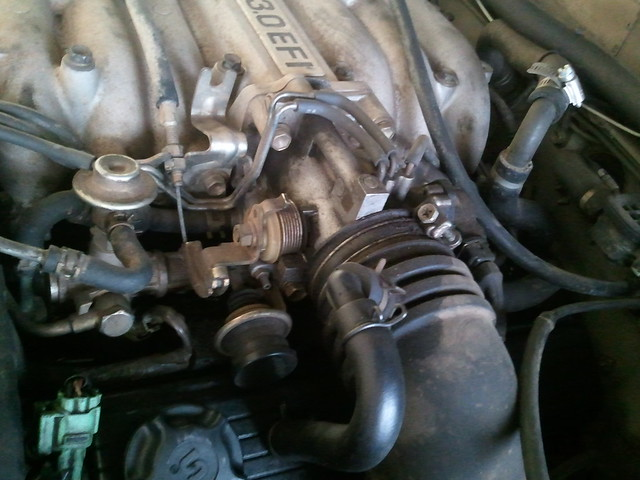 3 0 Intake Manifold Removal amp Knock Sensor Replacement