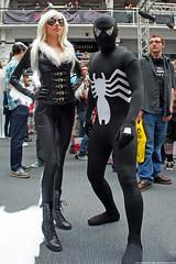 Kapow! Comic Con : Cosplay - Black Cat & Venom Spider-Man by Craig Grobler