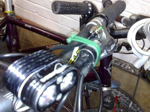 setup on bike