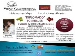 México: Diplomado en Sommellerie en Cabo San Lucas a partir del próximo 9 de mayo.