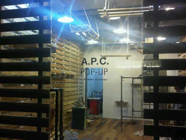 APC pop up