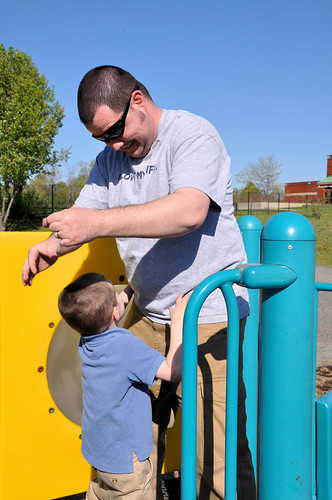 playground with daddy