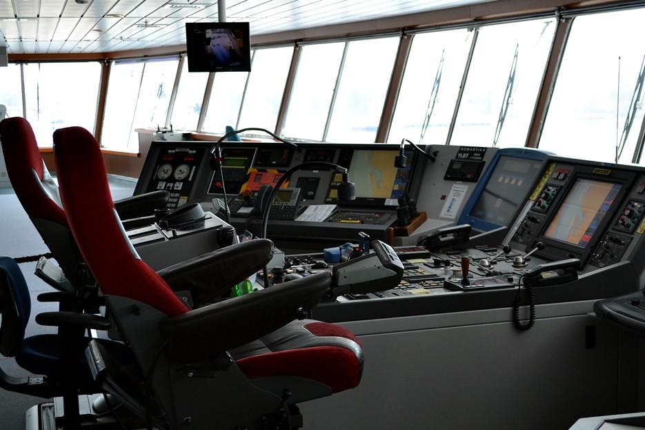 капитанский мостик корабля картинки