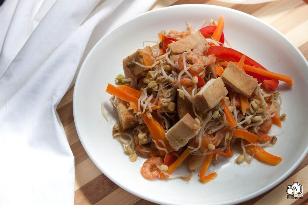 Ginisang Togue (Sautéed Mung Bean Sprouts)