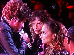 Casey and J Lo Sitting in a Tree: KISSING!