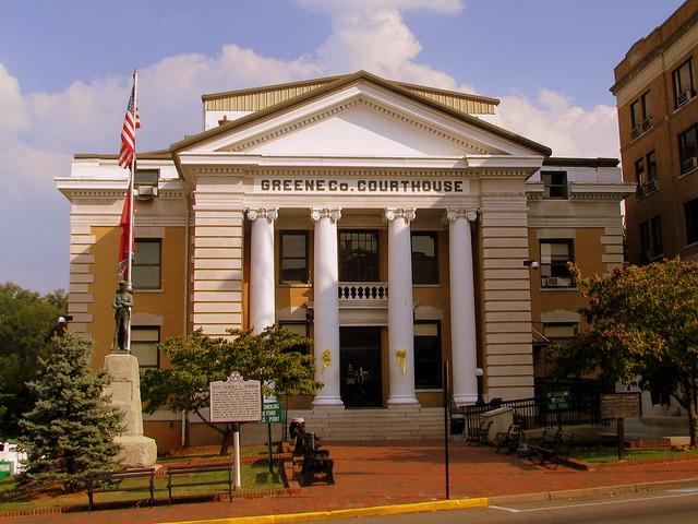 Greene County Courthouse B - Greeneville, TN