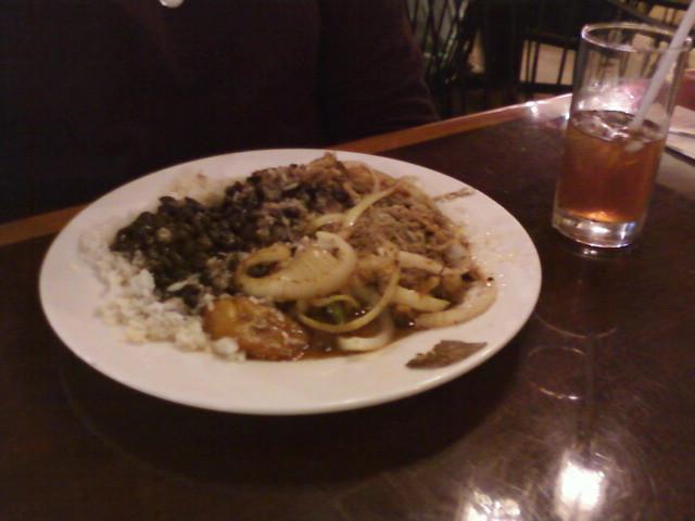"cuban shreded steak - uploaded with <a href=""http://twitpickr.com"" rel=""nofollow"">twitpickr.com</a>. (v2)"