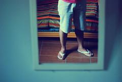 (Brivilati) Tags: me espelho foot mirror nikon eu ps d80 brivilati