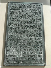 Photo of Robert Vilvaine and All Hallows, Exeter bronze plaque