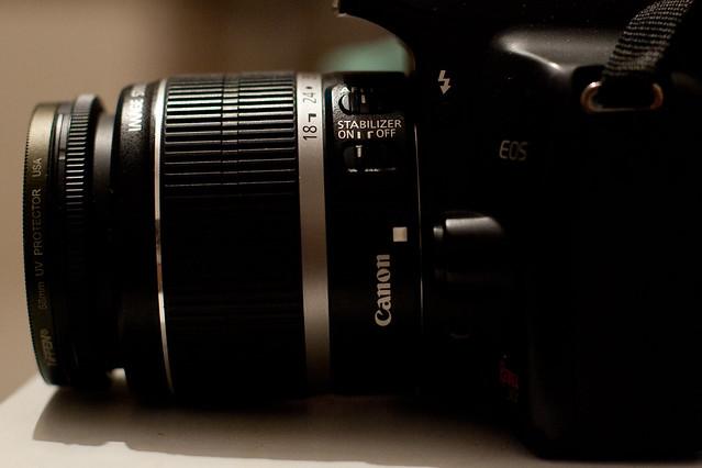 Autofoco, lente Reflex