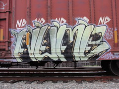NUMB (Same $hit Different Day) Tags: train graffiti elk freight numb adk