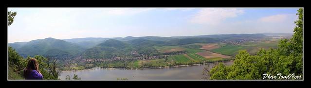 Dömös - panorama