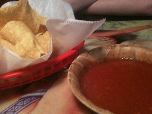 Chips and Salsa at El Bronco, Warner Robins GA