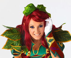 Jessica Nigri is Knightingail! (gbrummett) Tags: blue red beautiful comics pretty redhead kind comicon waynegardiner flickraward canoneos5dmarkiicamera grantbrummett bobbyvyne jessicanigri canonef70200mmf28lusmzoomlens knightingail crucidelproductionsllc