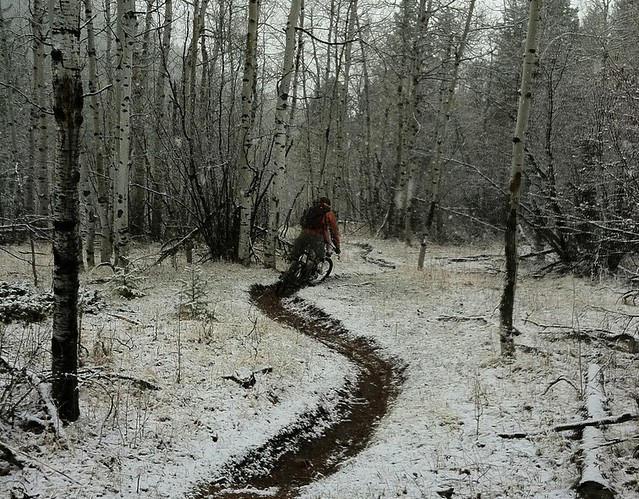 Shop Ride: Buffalo Creek MTB in the Snow