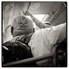 I can see you (Magnaza) Tags: tattoo skull head bold skinhead