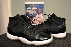 Air Jordan XI - Space Jams (Ma Got Sole) Tags: chicago black basketball michael nikon mesh air mj cartoon wb bulls nike jordan 23 dslr 2009 vhs bugsbunny 3100 jumpman xi spacejam wdywt iceysole d3100 nikond3100 magotsole