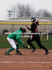 7I1R8423 (warren.robison) Tags: girls sports girl sport ball out photography action central first indiana christian highschool varsity softball bethesda pitcher triton basemen filder fairland ihsaa