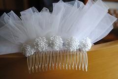 comb type veil