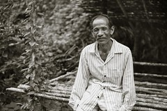 Asli 13 (jason highway tan) Tags: bw rural forest village documentary settlement seremban orangasli