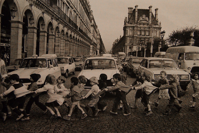 Robert Doisneau - Fear the Traffic