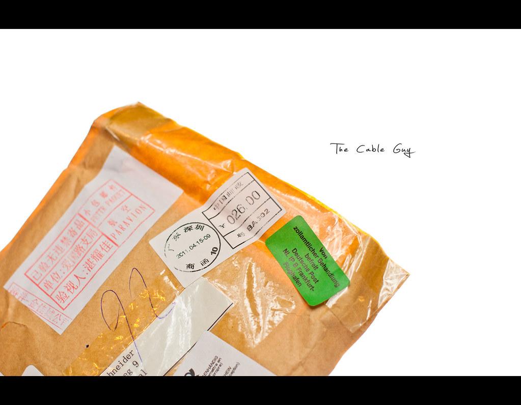 Project 365, 264/365, Day 264, strobist, letter, mail, envelop, on white, white background, Sigma 50mm F1.4 EX DG HSM, 50mm, 50 mm,