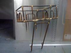 Basket No. 2 (jimn) Tags: bicycle brooklyn basket handmade steel cargo rack fillet brazed cromoly