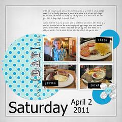 April 2, 2011 (flakyredhead) Tags: scrapbook load digiscrapping layoutaday